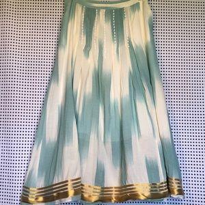 Floreat (Anthropologie) Far Seas Maxi Skirt